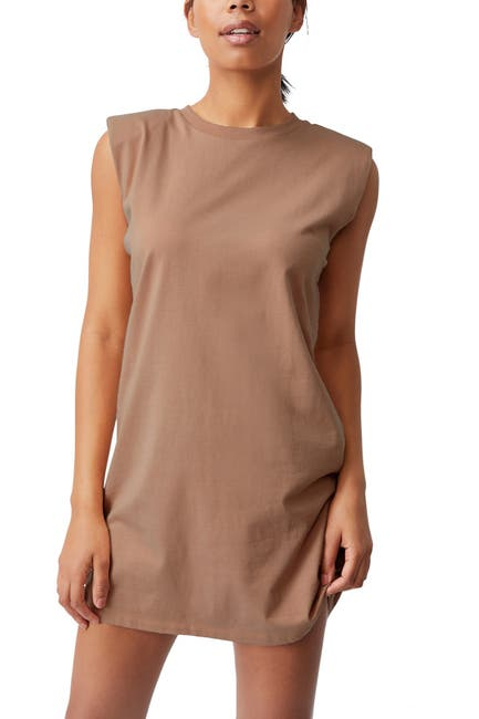 Image of Cotton On Lew Muscle Tank Mini Dress