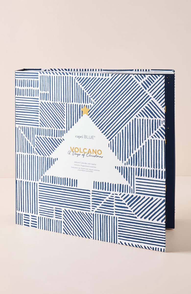 ANTHROPOLOGIE Capri Blue 12 Days of Volcano Gift Set, Main, color, VOLCANO