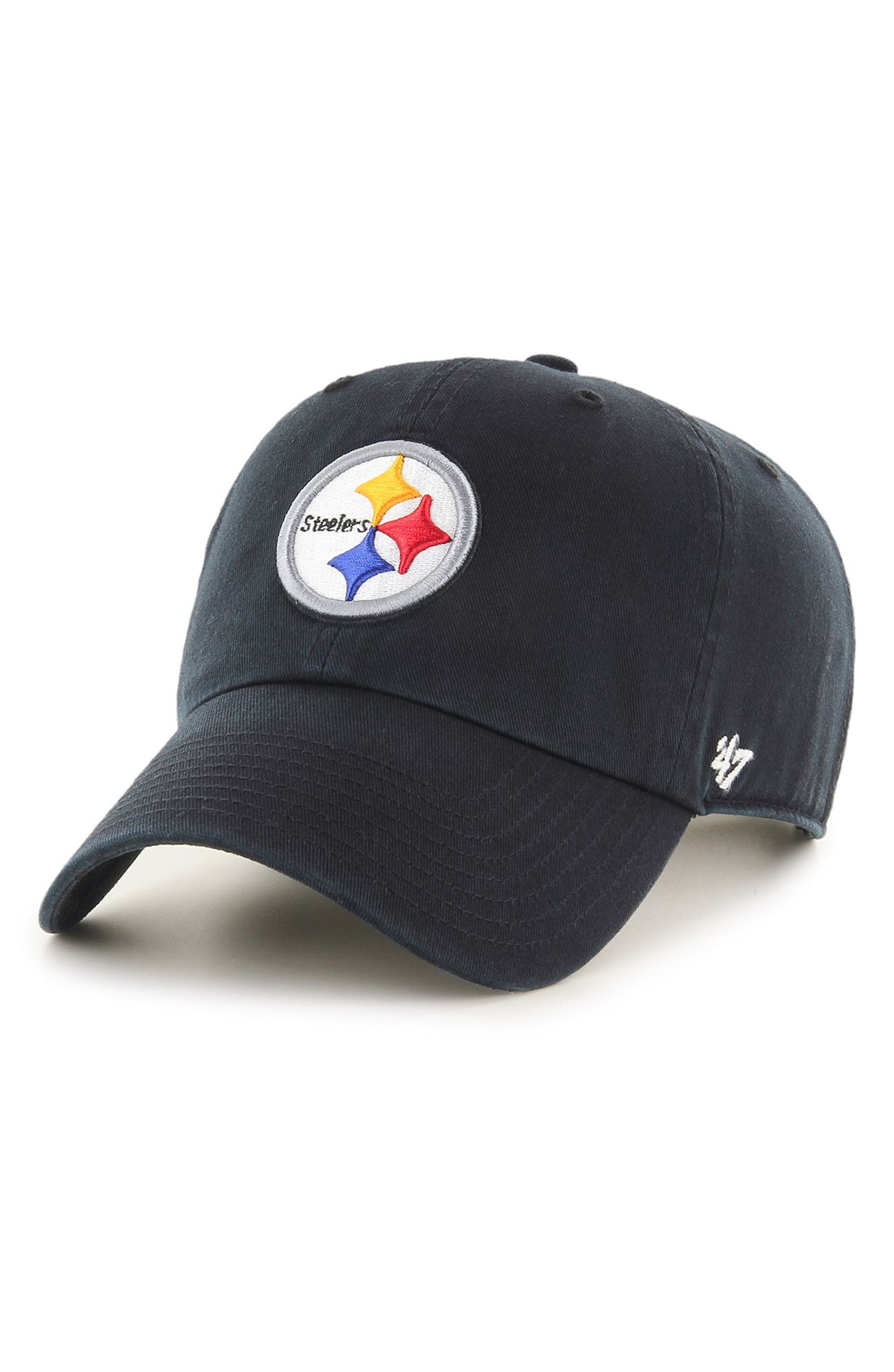 b58affe7 47 Brand 'Pittsburgh Steelers - Clean Up' Twill Ball Cap | Nordstrom