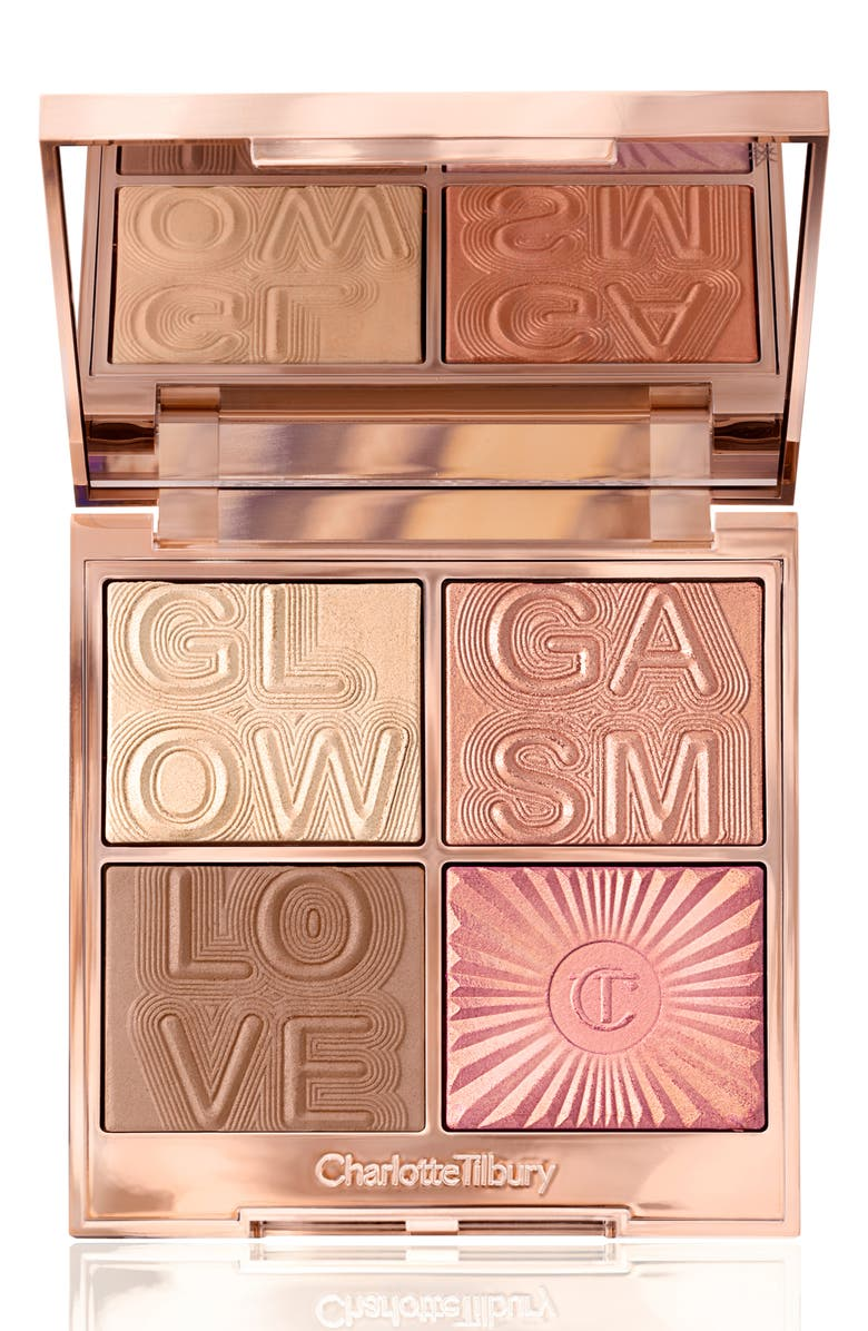 CHARLOTTE TILBURY Glowgasm Face Palette, Main, color, LIGHTGASM