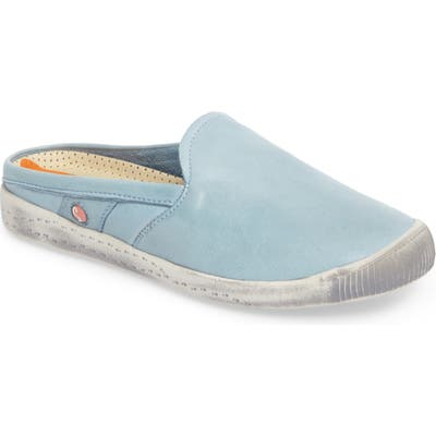 Softinos By Fly London Imo Sneaker Mule, Blue