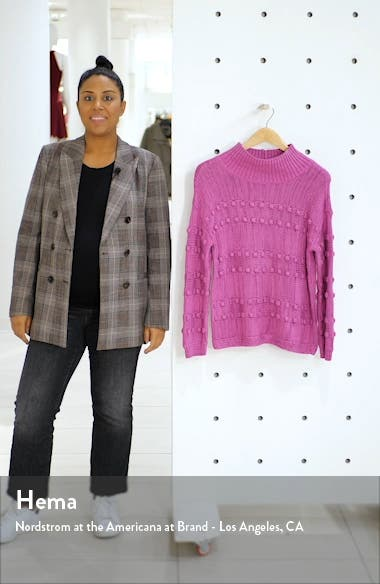 Adore A Ball Texture Stripe Turtleneck Sweater, sales video thumbnail