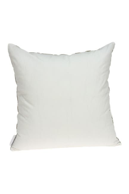 """Image of Parkland Collection Noori Bling Pillow - 20"""" x 20"""" - Ivory"""