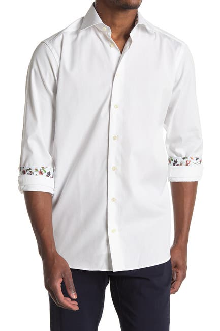 Image of Eton Solid Contemporary Fit Shirt