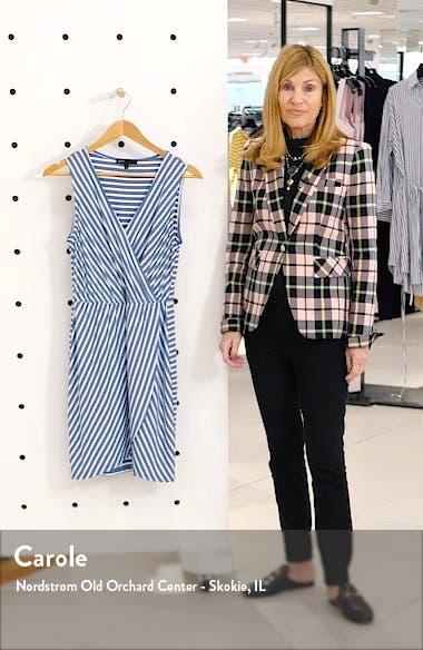 x The Motherchic Avalon Faux Wrap Jersey Dress, sales video thumbnail