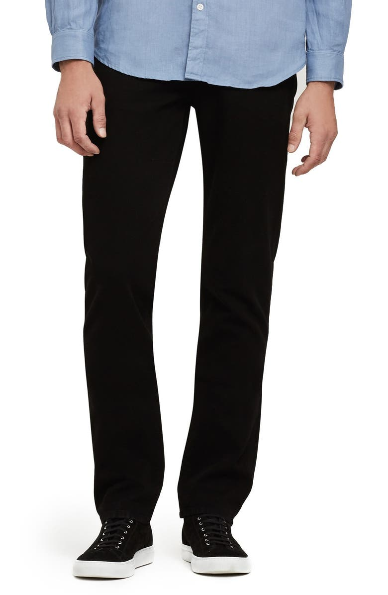 CITIZENS OF HUMANITY Gage Slim Straight Leg Jeans, Main, color, BLACK