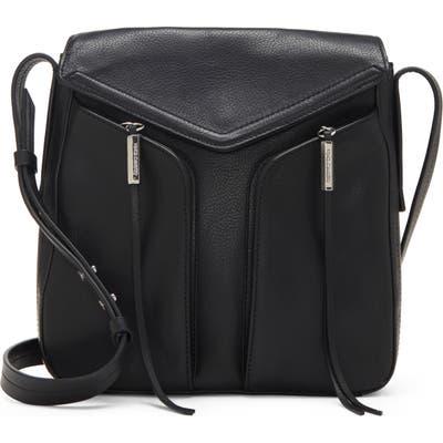 Vince Camuto Mika Leather Crossbody Bag - Black