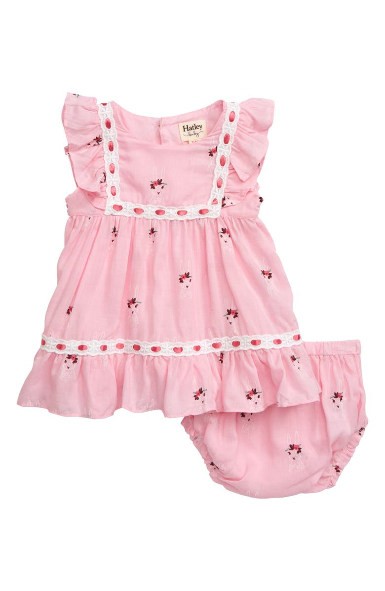 HATLEY Bunny Print Dress, Main, color, 650