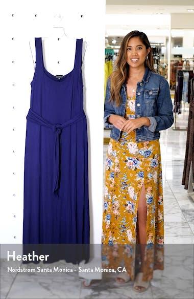 Tie Waist Maxi Dress, sales video thumbnail