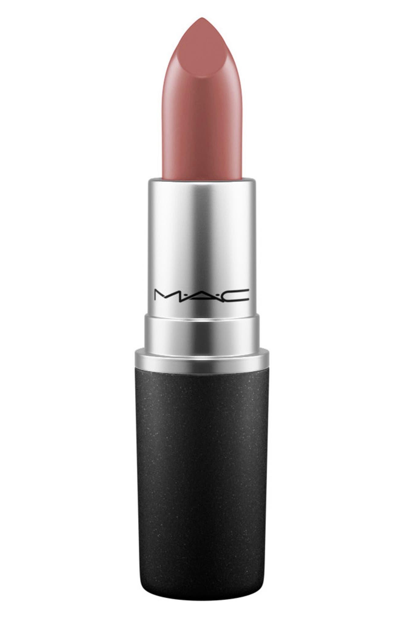 ,                             MAC Strip Down Nude Lipstick,                             Main thumbnail 801, color,                             739