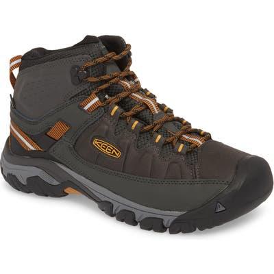 Keen Targhee Exp Mid Waterproof Hiking Boot, Red