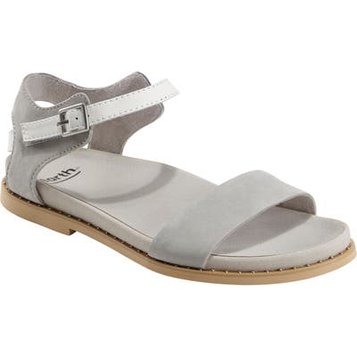Earth Cameo Sandal- Grey