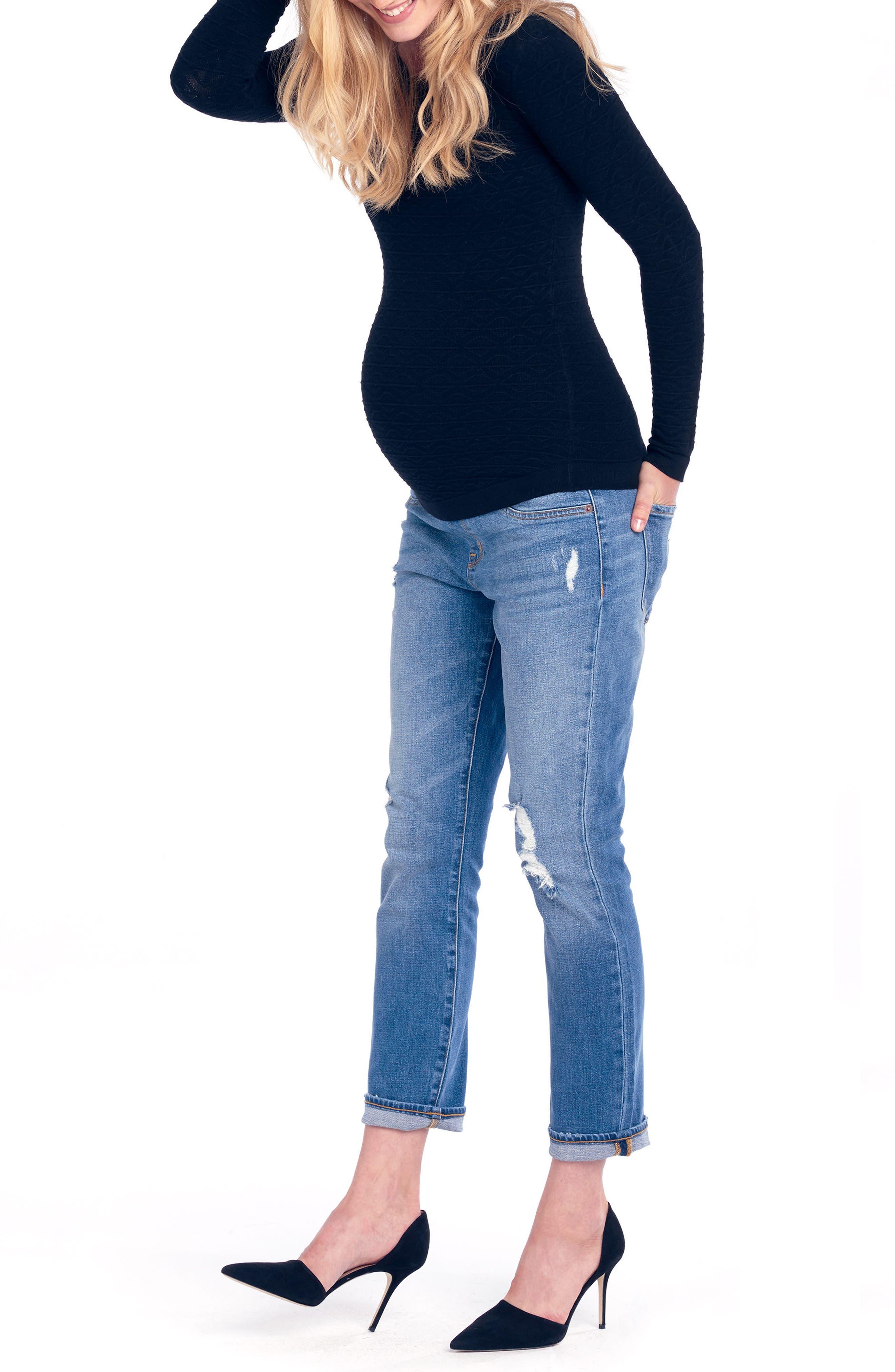 Women's Ingrid & Isabel Mia Maternity Boyfriend Jeans