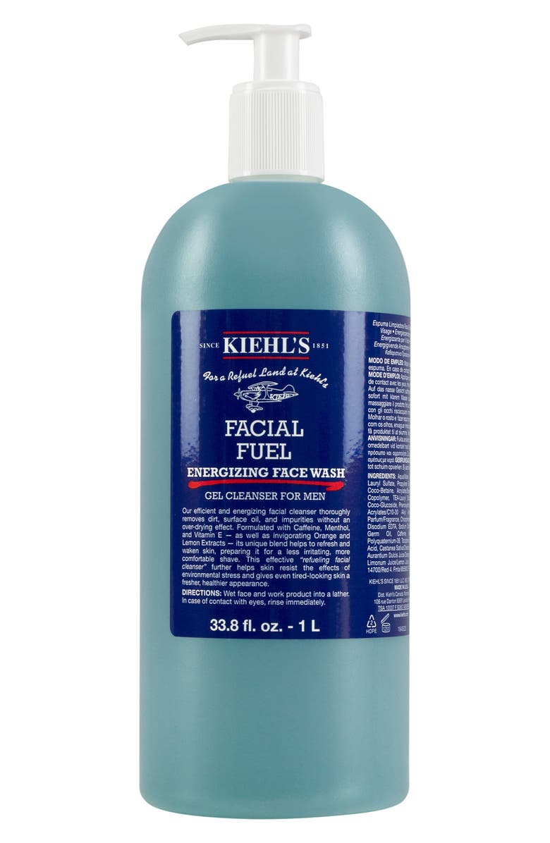 KIEHL'S SINCE 1851 Jumbo Facial Fuel Energizing Face Wash, Main, color, NO COLOR