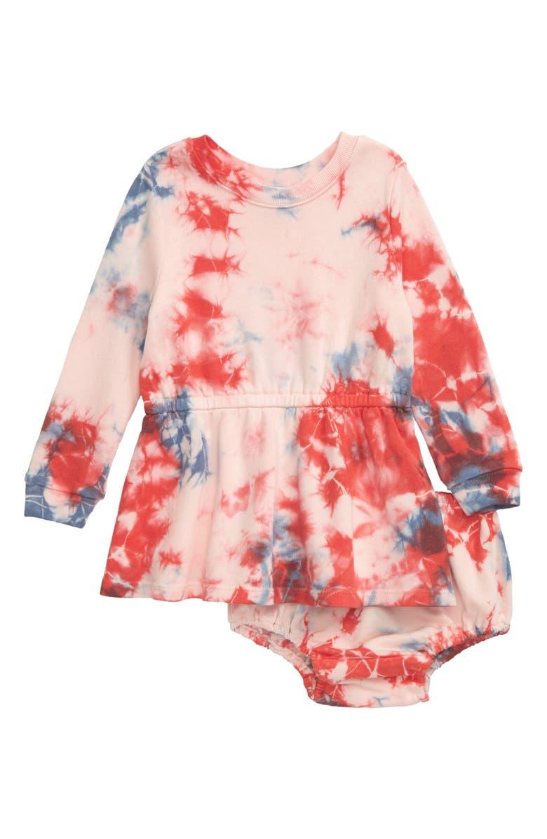 SPLENDID Tie Dye Dress, Main, color, 620