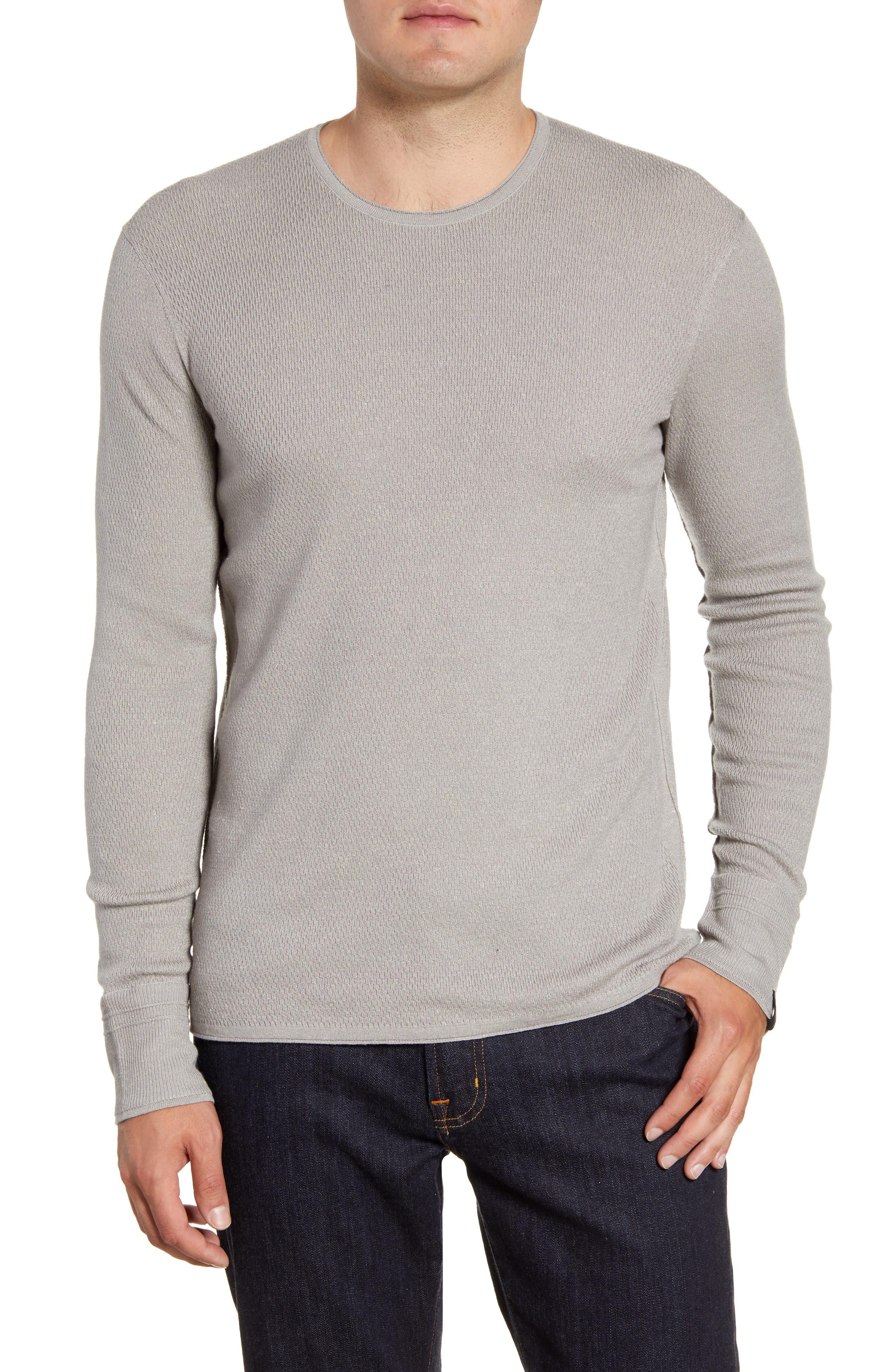 Image of Rag & Bone Davis Slim Fit Crewneck Sweater