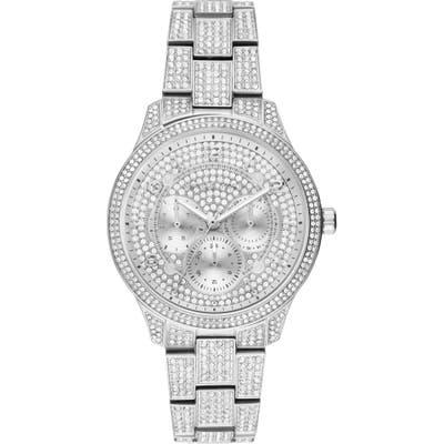 Michael Kors Runway Crystal Bracelet Watch,