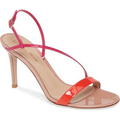 Gianvito Rossi Asymmetrical Strap Sandal