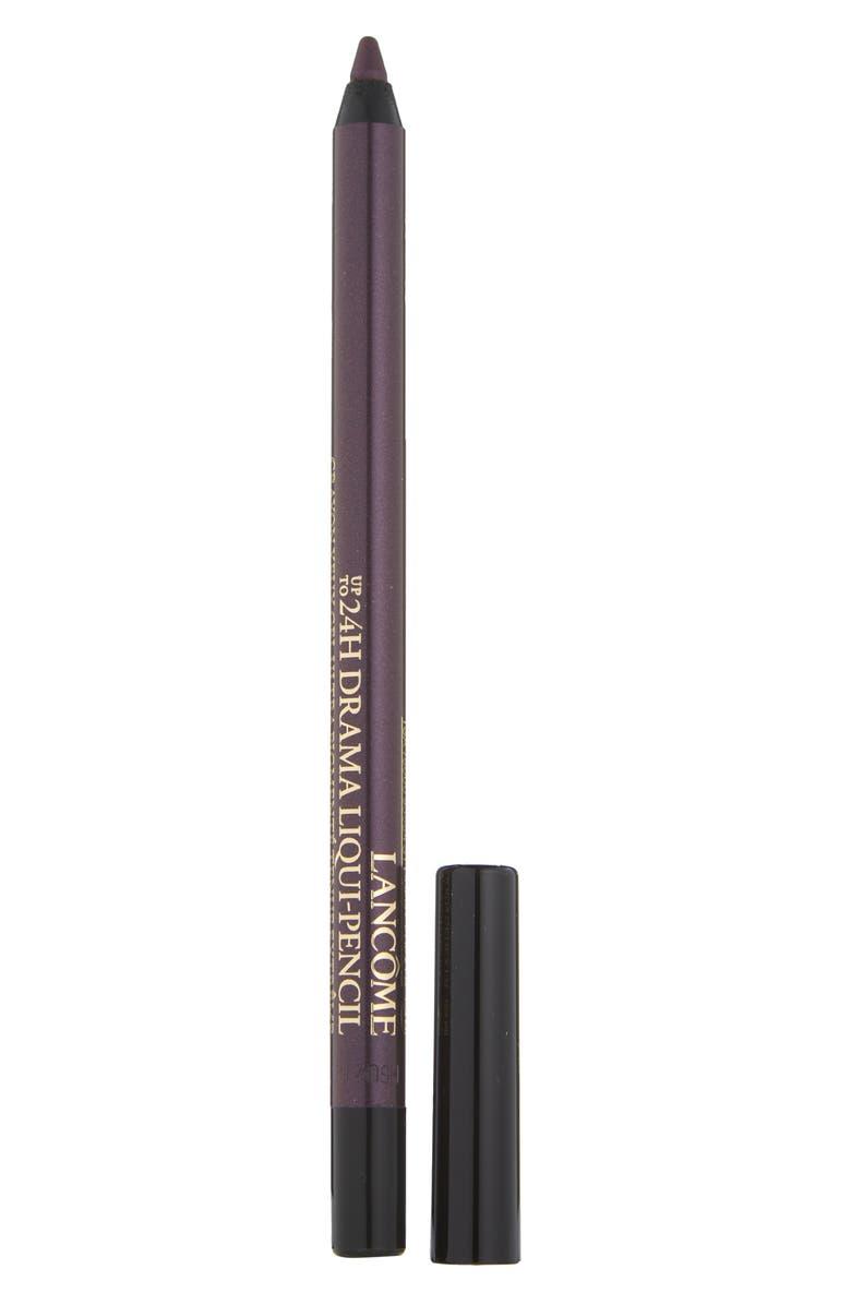 LANCÔME Drama Liqui-Pencil Waterproof Eyeliner, Main, color, 07 PURPLE CAB / METALLIC