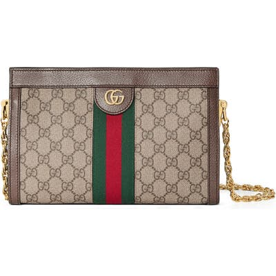 Gucci Small Gg Supreme Shoulder Bag - Beige
