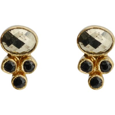 Karen London Alexandria Stud Earrings