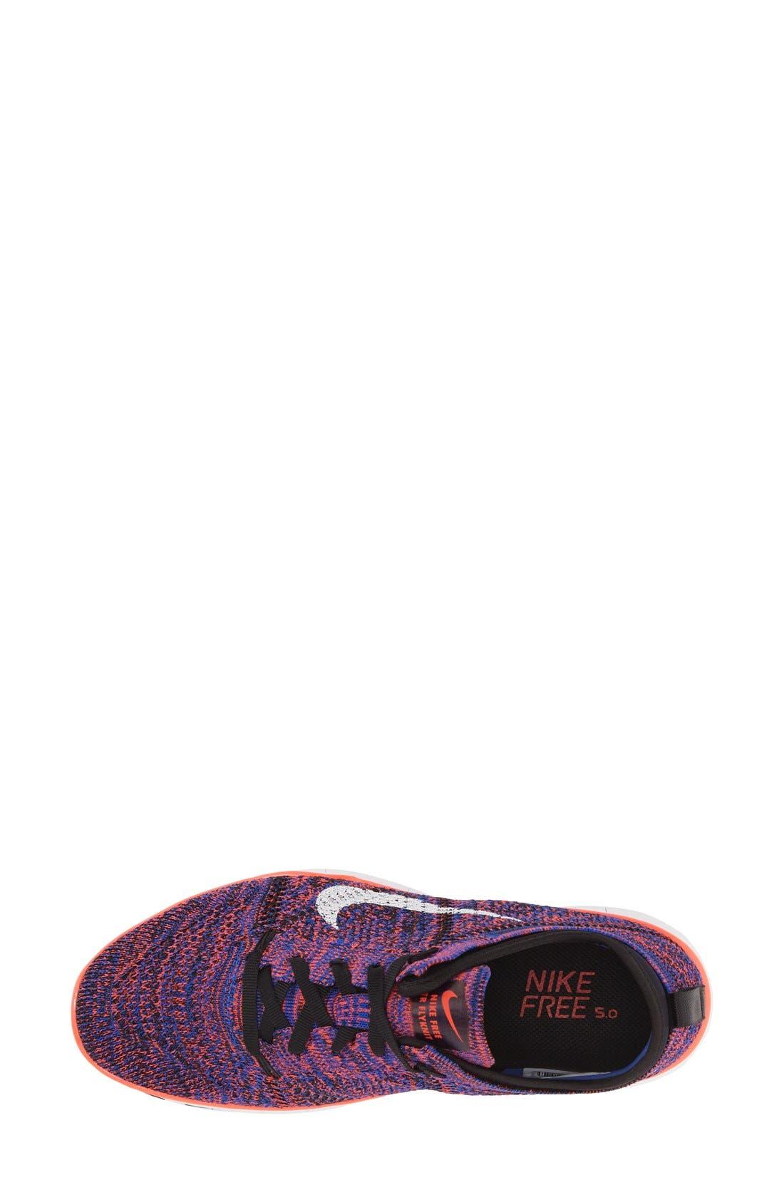 ,                             'Free Flyknit 5.0 TR' Training Shoe,                             Main thumbnail 5, color,                             002