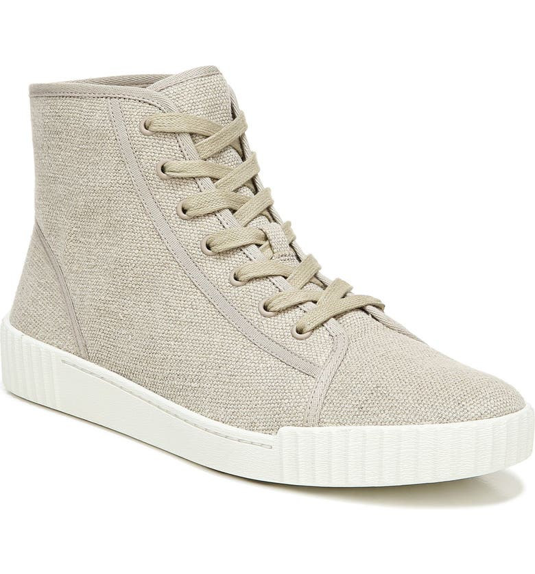 VINCE Wolfe High Top Sneaker, Main, color, LINEN