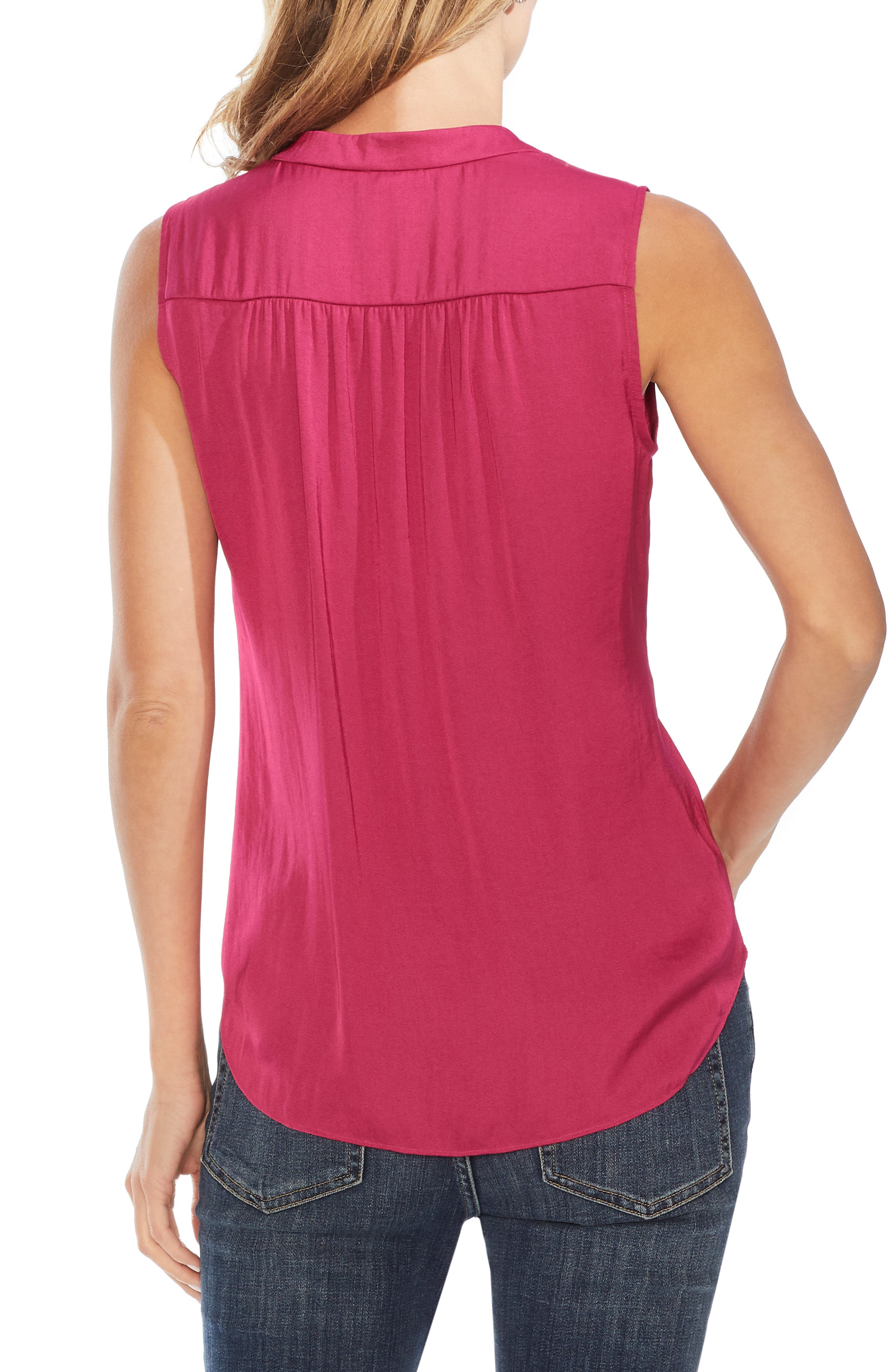 ,                             Rumpled Satin Blouse,                             Alternate thumbnail 69, color,                             670