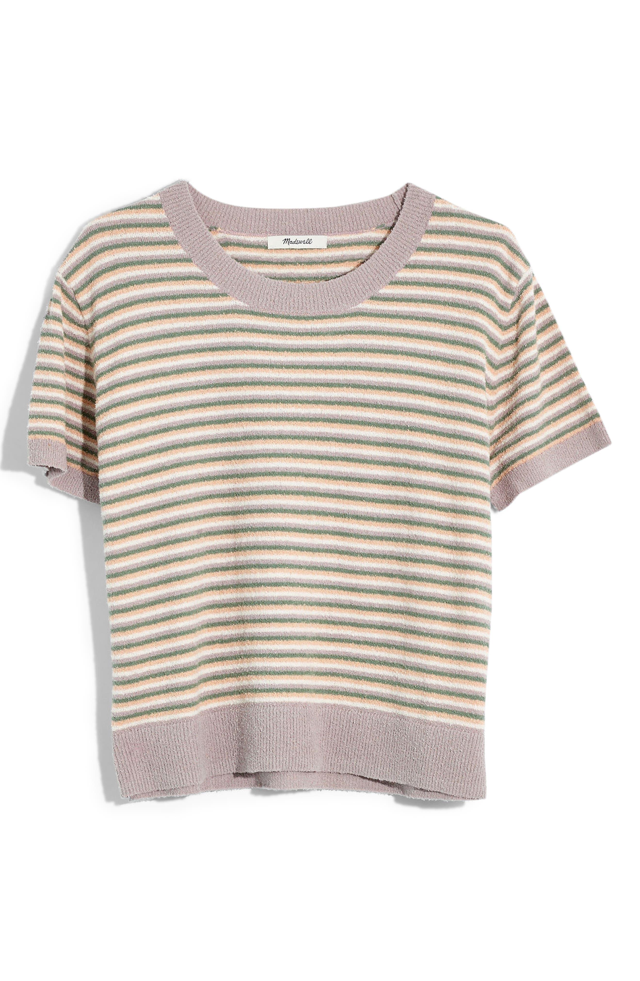 Madewell Stripe Lakedale Sweater Tee, Ivory