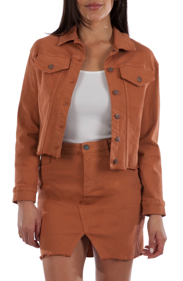 KUT From The Kloth Kara Crop Jacket