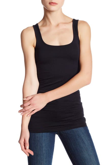 Image of Abound Double Scoop Tunic Tank