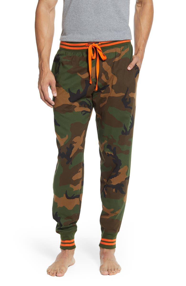 POLO RALPH LAUREN Camo Knit Jogger Pants, Main, color, CAMO