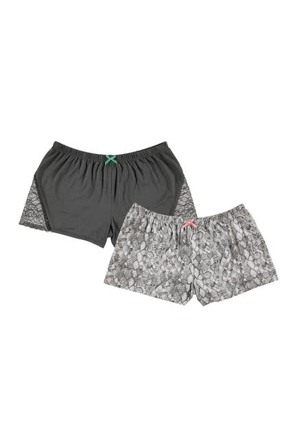 Image of Flora Nikrooz Sleepwear Jersey Pajama Shorts - Set of 2
