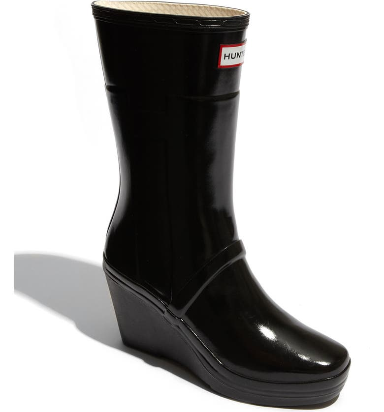 best place best choice online store 'Kellen' Wedge Heel Rain Boot