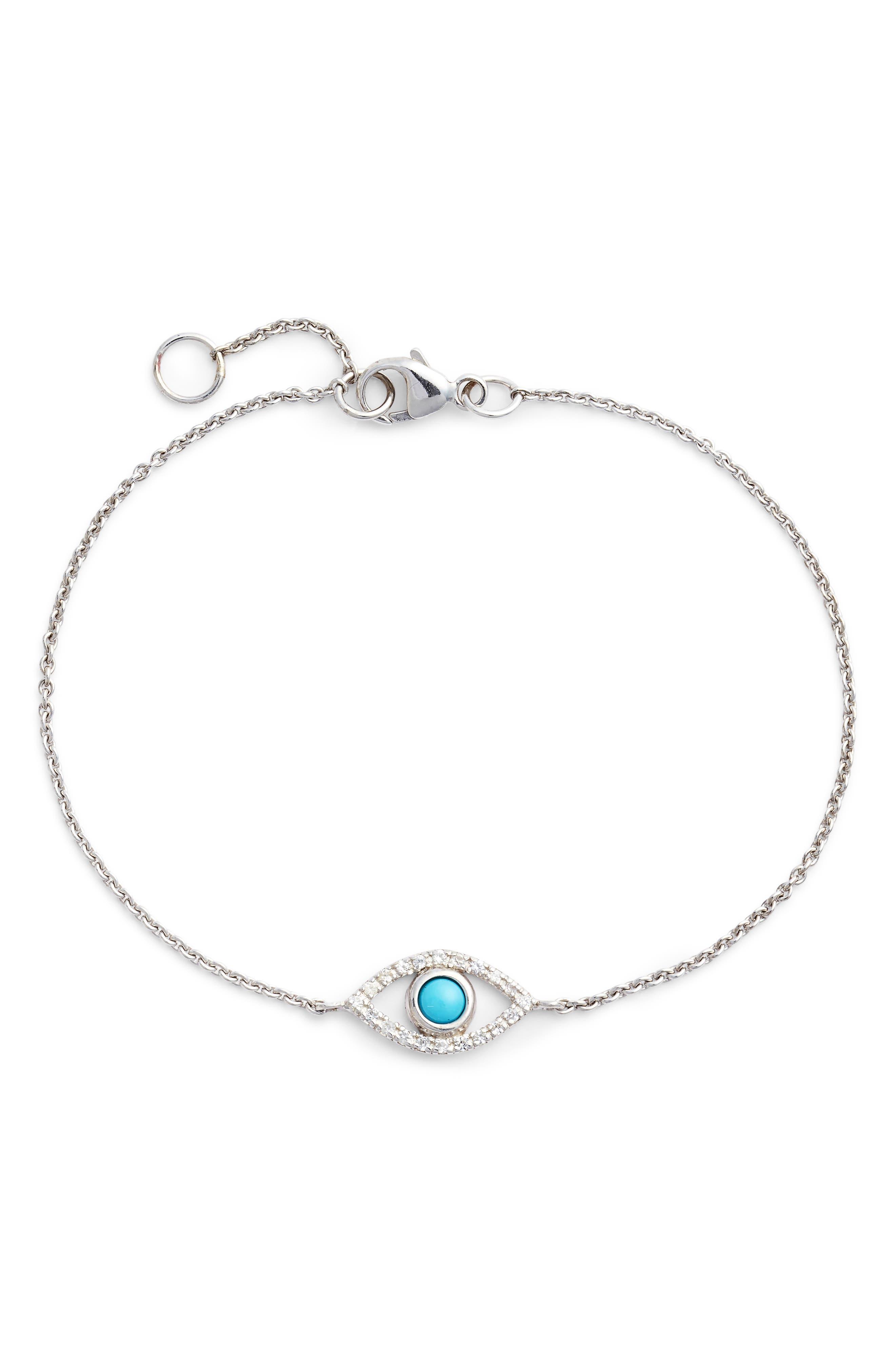 Evil Eye Turquoise Bracelet