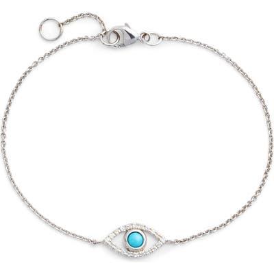 Anzie Evil Eye Turquoise Bracelet