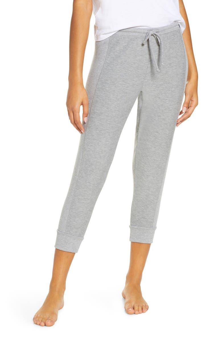 CHASER Crop Jogger Pants, Main, color, H GREY