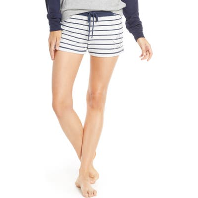 Pj Salvage Dream Mix Stripe Pajama Shorts, Ivory
