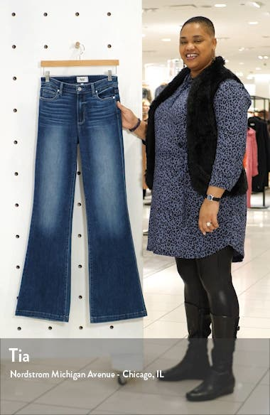 Genevieve High Waist Flare Jeans, sales video thumbnail