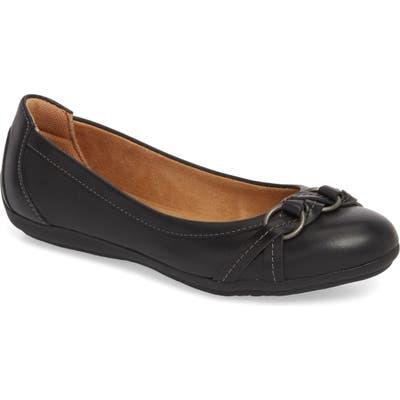 Comfortiva Malloree Flat, Black