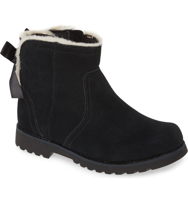 UGG<SUP>®</SUP> Cecily Boot, Main, color, BLACK