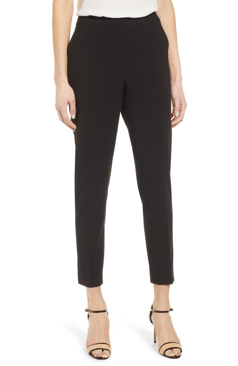 HALOGEN<SUP>®</SUP> Ankle Pants, Main, color, BLACK