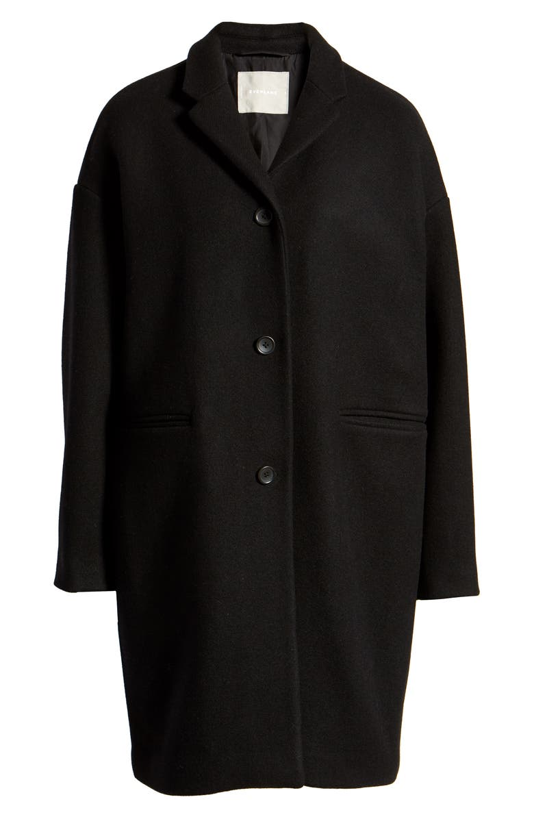 EVERLANE The Cocoon Coat, Main, color, BLACK