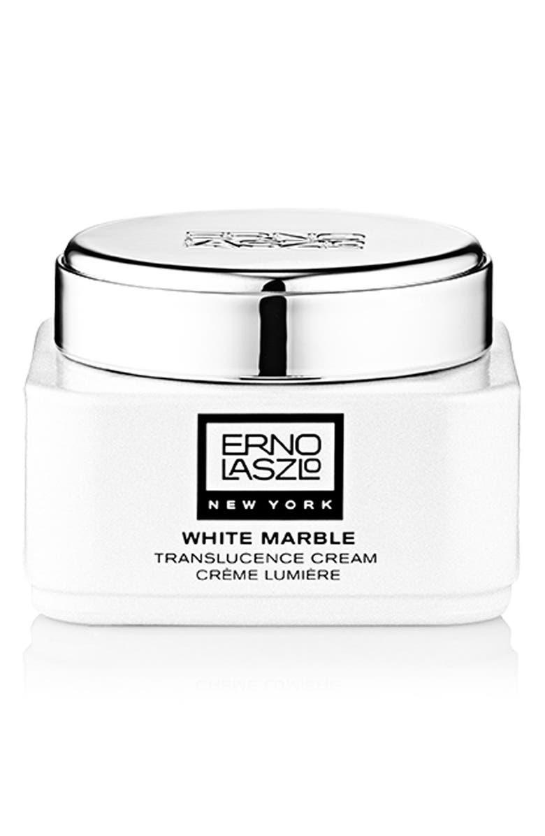 ERNO LASZLO White Marble Translucence Cream, Main, color, NO COLOR