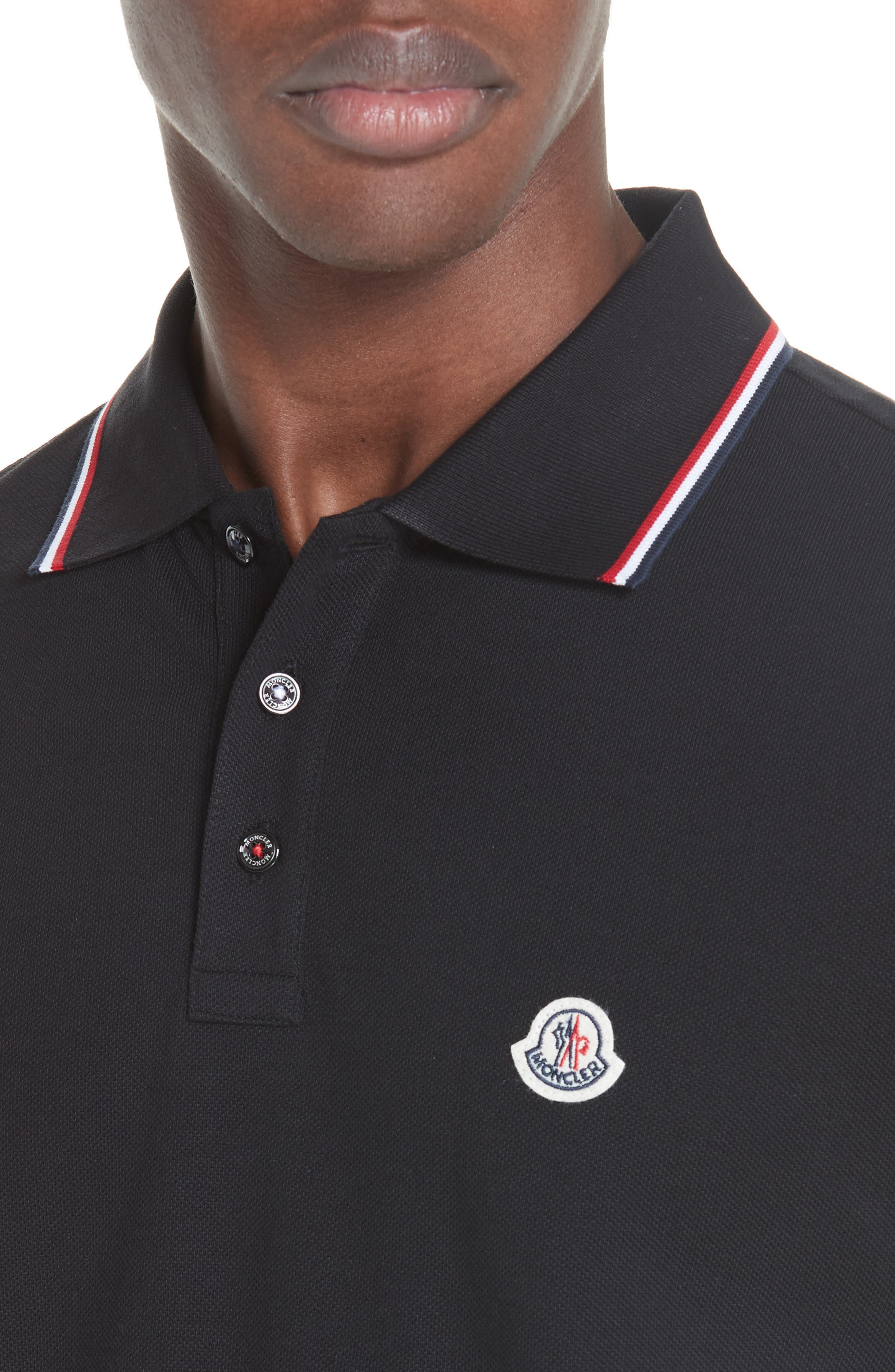 ,                             Maglia Piqué Polo,                             Alternate thumbnail 4, color,                             001