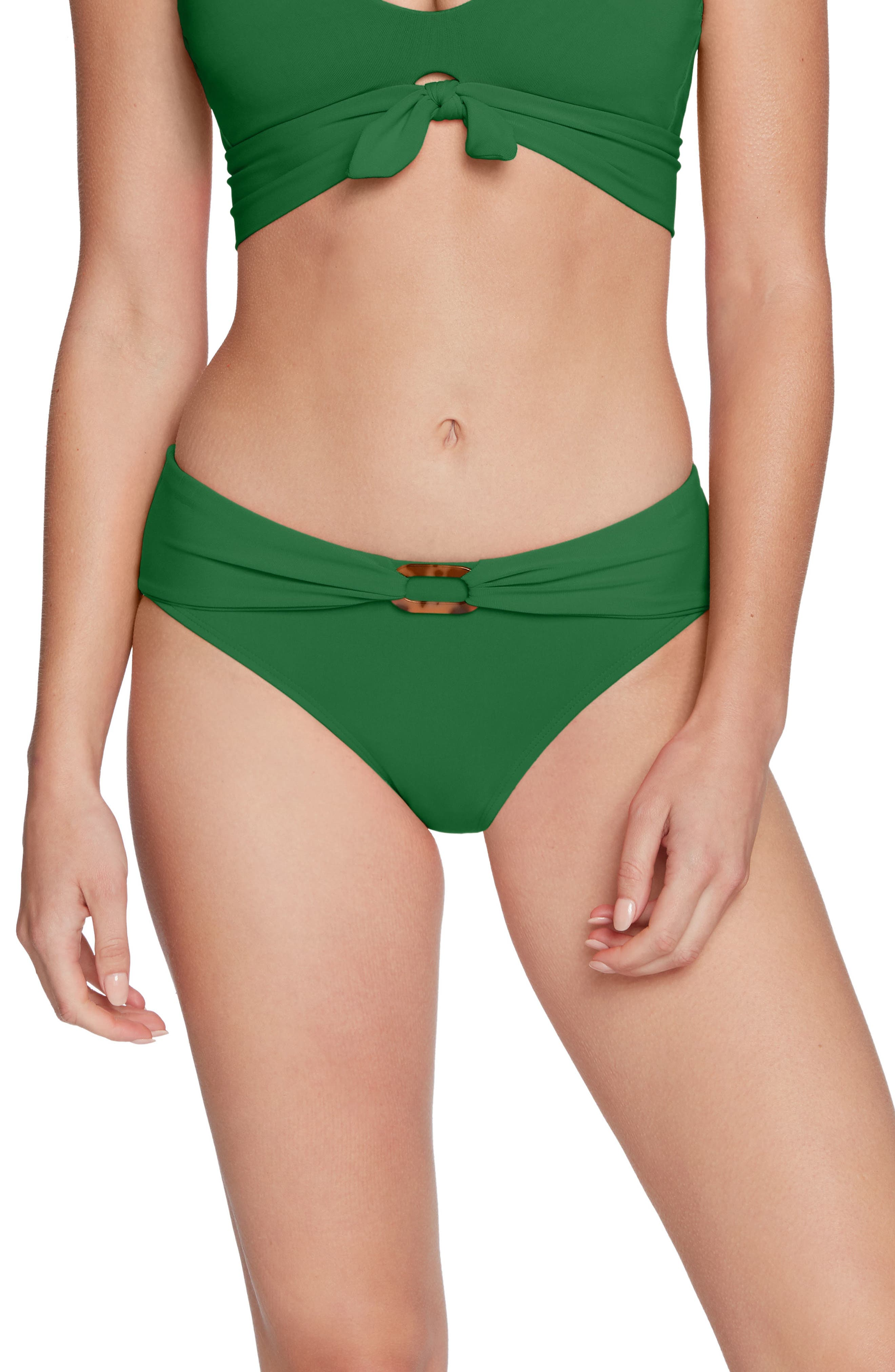 Image of Robin Piccone Hailey Twist Cuff Bikini Bottoms