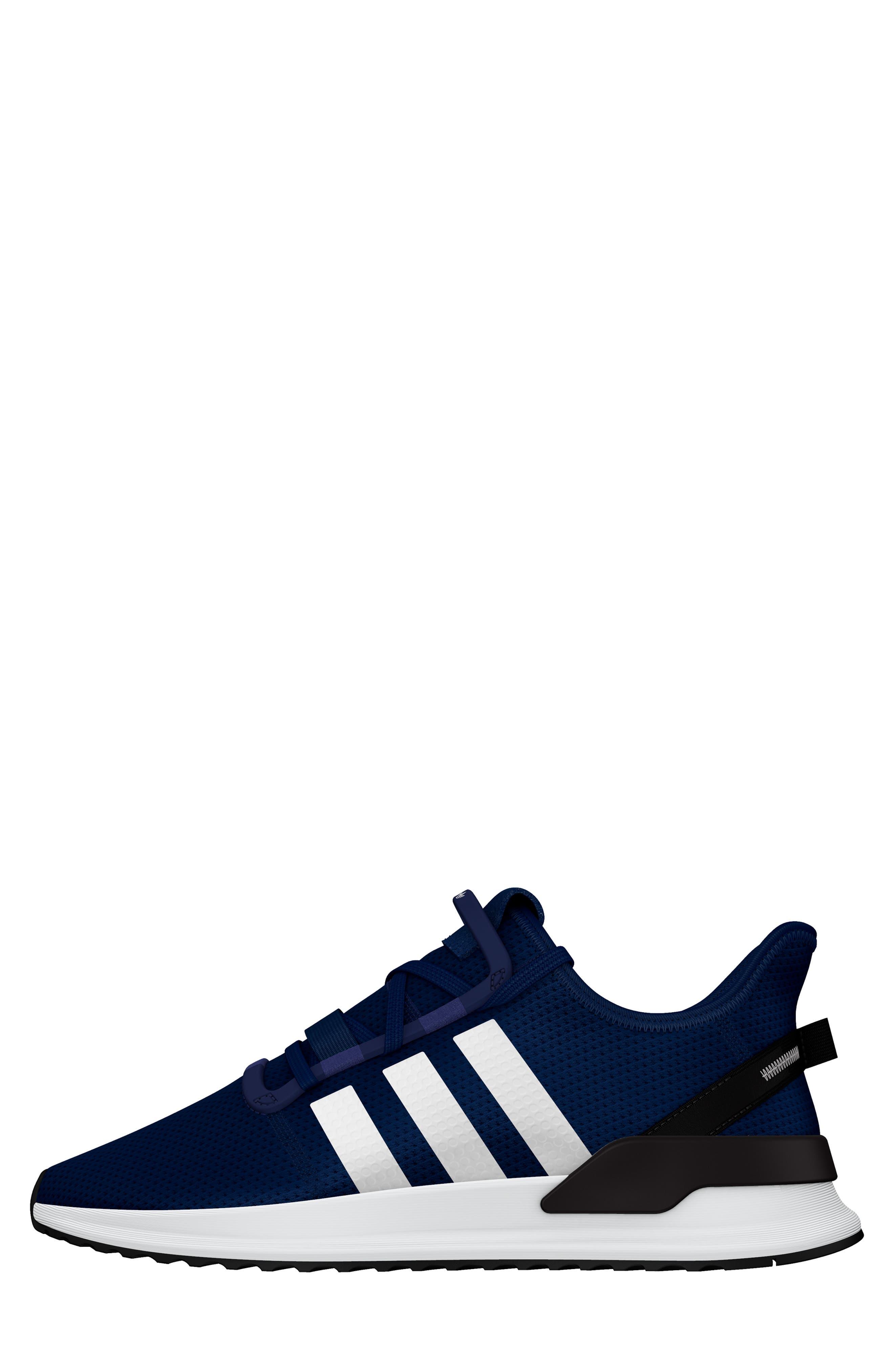 ,                             U-Path Run Sneaker,                             Alternate thumbnail 9, color,                             DARK BLUE/ WHITE