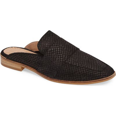 Free People At Ease Loafer Mule - Black
