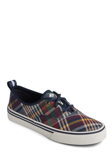 Image of Sperry Crest CVO Plaid Sneaker