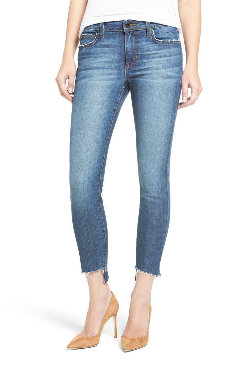 JOE'S Blondie Step Hem Ankle Skinny Jeans, Main, color, 430